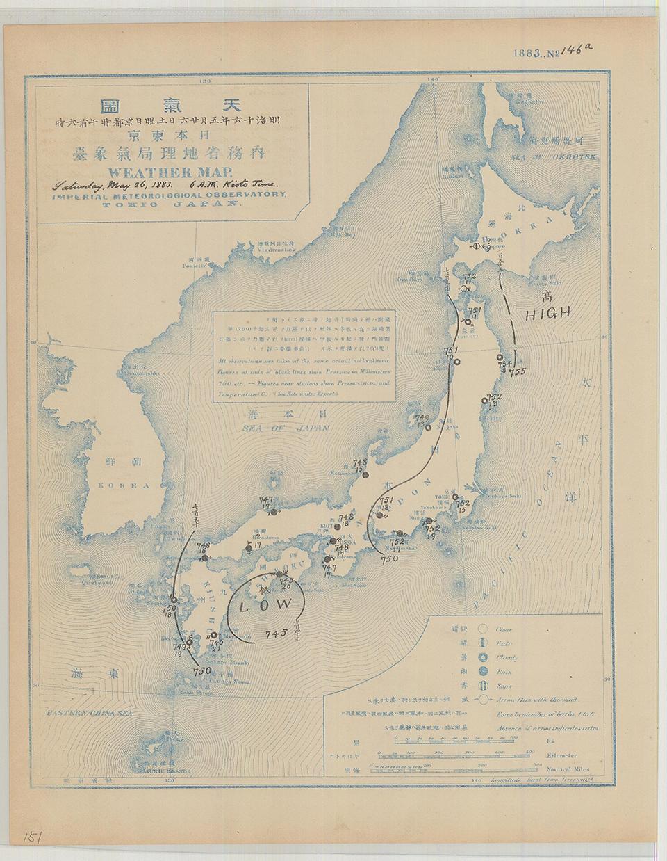 18830526_地上天気図