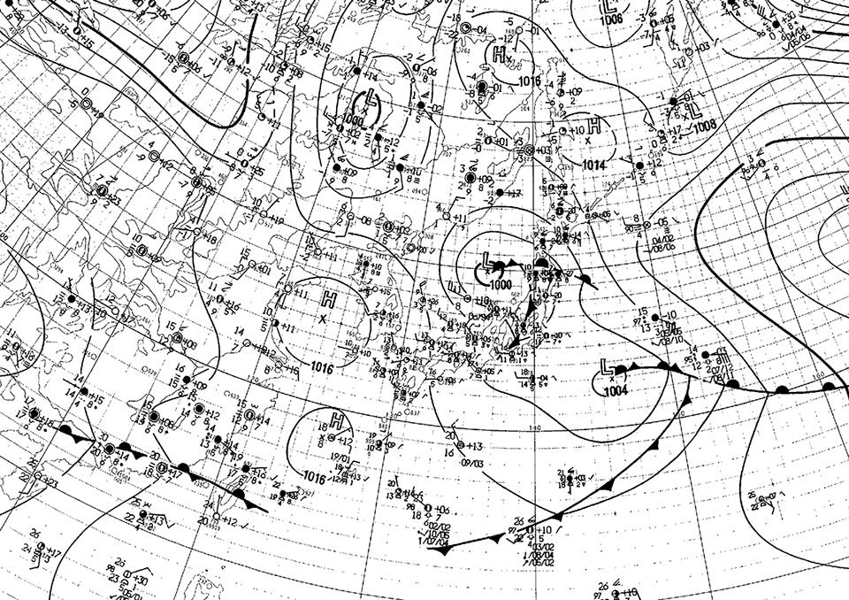 19930401天気図