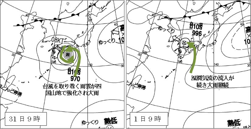 平成16年台風10号 日雨量1317㎜_2