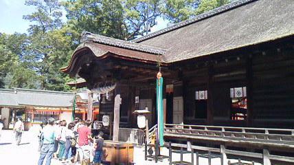 大山祇神社拝殿2