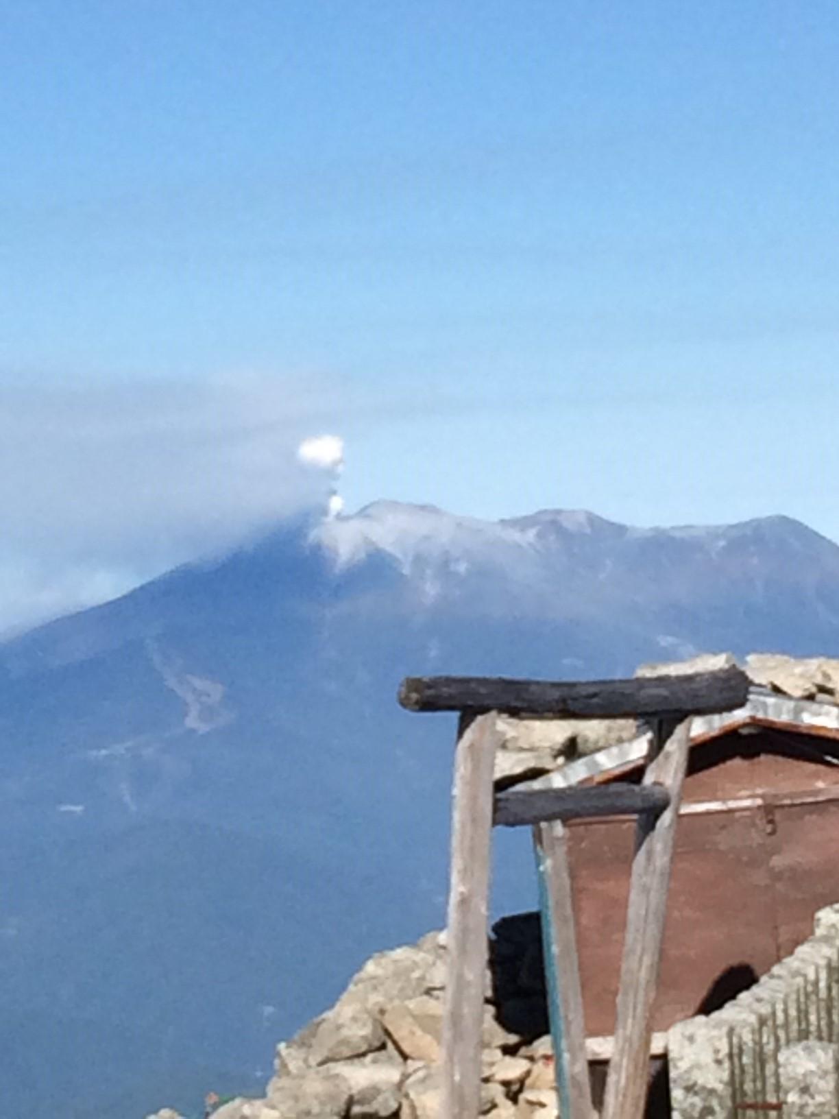 御嶽山噴火3