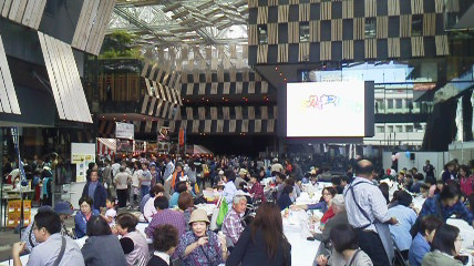 アオーレ長岡イベント風景