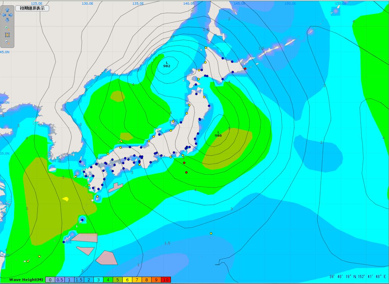 天気図(2014.12.16.21時)