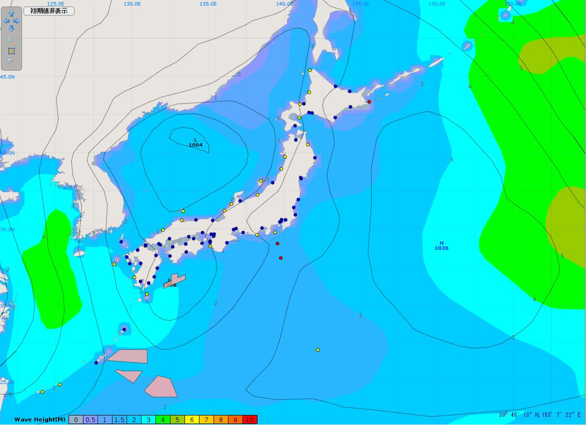 天気図(2014.12.16.9時)