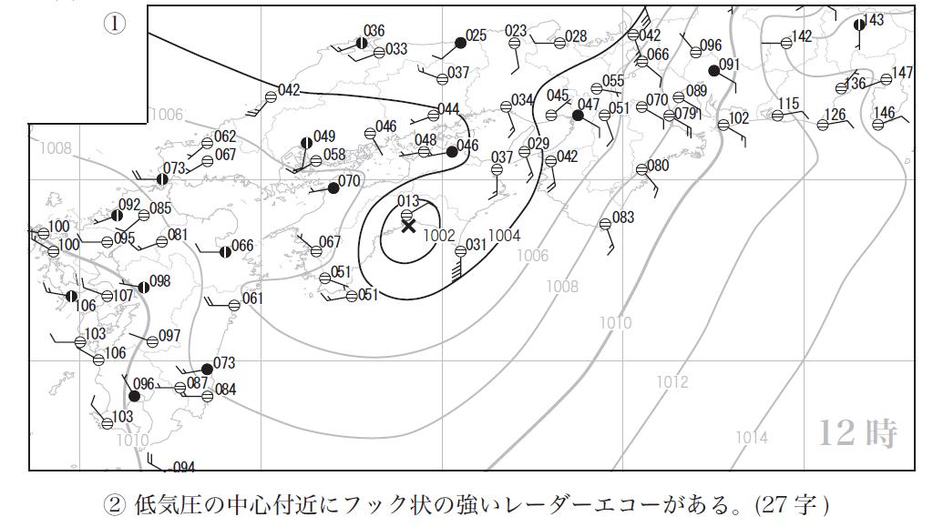 気象予報士試験_5