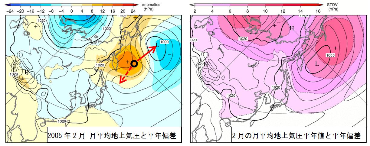 2月の北海道は極端な天候だった_4