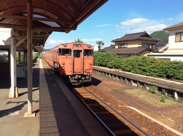 湯田温泉駅1