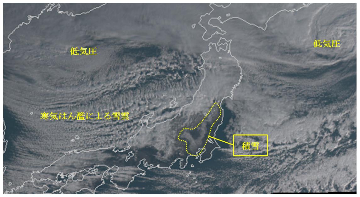1月18日の関東地方の雪は重かった_3